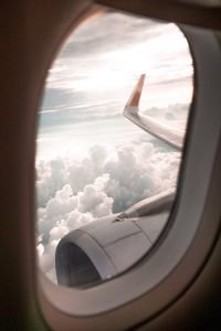 fear of flying hypnotherapy window view